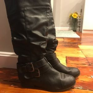 Charlotte Russe tall black boots